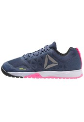 Reebok Crossfit Nano 6.0 Sports Shoes Blue Lilac Pink Black Pewter Dark Blue