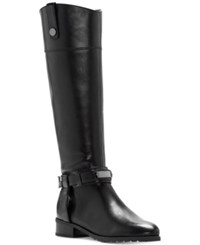 Inc International Concepts Women's Fabbaa Tall Wide Calf Boots Only At Macy's Women's Shoes Dark Chocolate