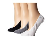 Sperry Micro Liner 3 Pack White Asst Crew Cut Socks Shoes