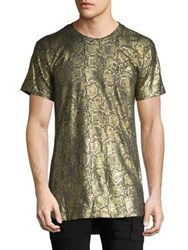 Robin's Jeans Printed Tee Gold