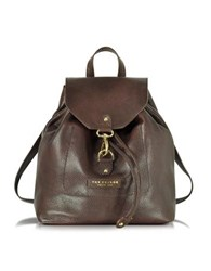 The Bridge Plume Soft Donna Dark Brown Leather Backpack