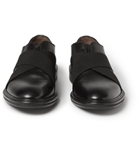 Givenchy Elasticated Strap Leather Derby Shoes
