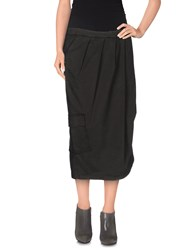 Manila Grace Denim Denim Skirts Women Camel
