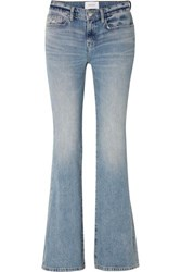 Current Elliott The Jarvis Mid Rise Flared Jeans Light Denim