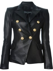 Balmain Fitted Blazer Black