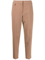 Theory High Rise Cropped Tapered Trousers 60