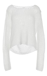 Manoush Grunge Stitch Sweater Ivory