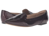 Isola Christie Chianti Goat Crinkle Patent Women's Flat Shoes Brown