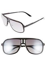 Men's Carrera Eyewear 59Mm Aviator Sunglasses Black Ruthenium Silver