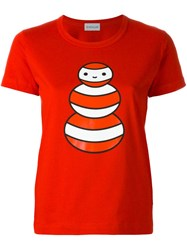Moncler X Friendswithyou Printed T Shirt Red
