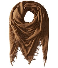Chan Luu Cashmere And Silk Scarf Desert Palm Scarves Beige