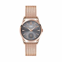 Henry London Ladies' Finchley Watch Grey Rose Gold