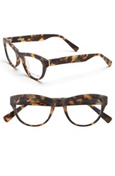 Women's Derek Lam 48Mm Optical Glasses Matte Tortoise