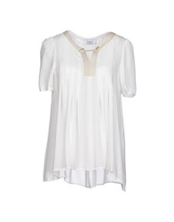 Axara Paris Blouses White