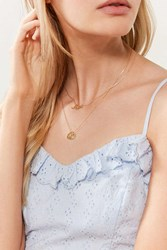 Urban Outfitters Zodiac Layering Charm Necklace Set Aries