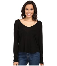 Project Social T Wild Night Flax Cold Shoulder Black Women's Clothing