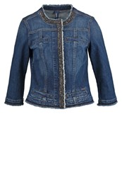 Liu Jo Jeans Kate Denim Jacket Blue Denim