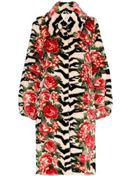 Shrimps Lorca Floral Coat Black