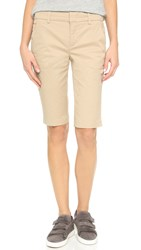 Vince Side Buckle Shorts Light Khaki