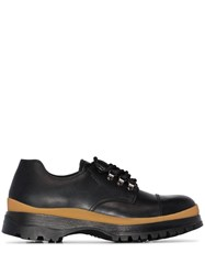 Prada Chunky Derby Shoes Black
