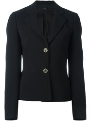 Agnona Two Button Blazer Black