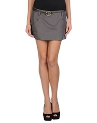 Gunex Mini Skirts Grey