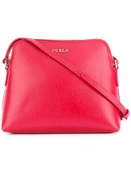 Furla Inside Pouch Crossbody Bag Red