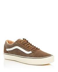 Vans Ua Old Skool Lace Up Sneakers Vintage Brown