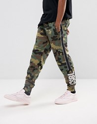 Cayler And Sons Joggers In Camo Green