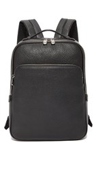 Bally Ceripo Leather Backpack Black
