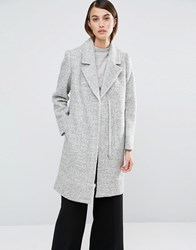 Selected Clara Tailored Coat Grey