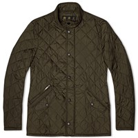 Barbour Flyweight Chelsea Quilt Jacket Green