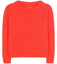 By Malene Birger Claudetta Wool And Mohair Blend Sweater Red