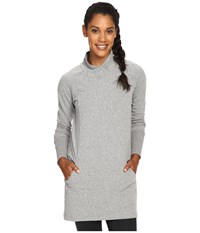 Lole Evelina Tunic Black Heather Women's Long Sleeve Pullover