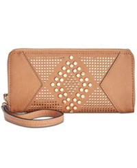 Inc International Concepts Hazell Perforated Wallet Created For Macy's Honey