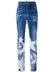 Dsquared2 Los Angeles Big Star Jeans Blue