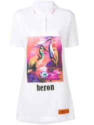Heron Preston T Shirt Dress White