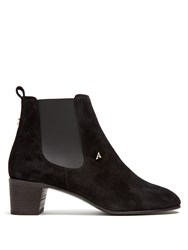 Acne Studios Hely Suede Chelsea Boots Black