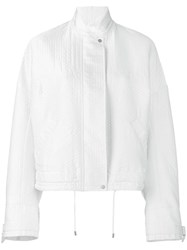 Christian Wijnants Zipped Jacket White