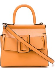 Boyy 'Karl' Tote Bag Yellow And Orange