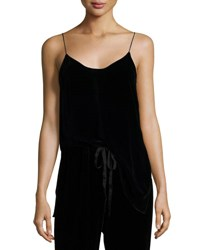 Theory Odete B Fixture Cami Top Black