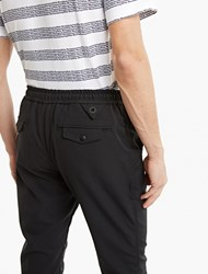 White Mountaineering Black Relaxed Biker Trousers