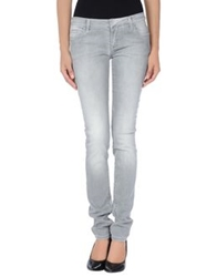 Ring Denim Pants Grey
