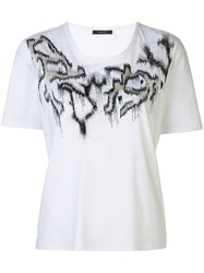 Natori Supima Cotton Embroidered T Shirt 60