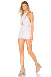 6 Shore Road Cargo Wrap Romper White