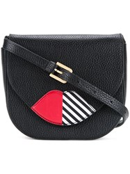 Lulu Guinness 'Zoe' Cross Body Bag Black
