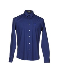 Roberto Cavalli Shirts Bright Blue