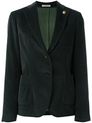 Lardini Patch Pockets Blazer Green