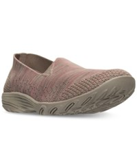 Skechers Women's Looking Good Slip On Casual Walking Sneakers From Finish Line Taupe Pink