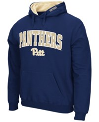 Colosseum Men's Pittsburgh Panthers Arch Logo Hoodie Navy
